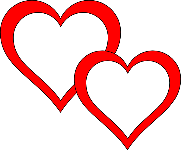 png freeuse interlocking hearts clipart #64736697