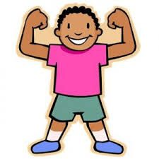 vector free download Strong kid clipart. Image result for math.