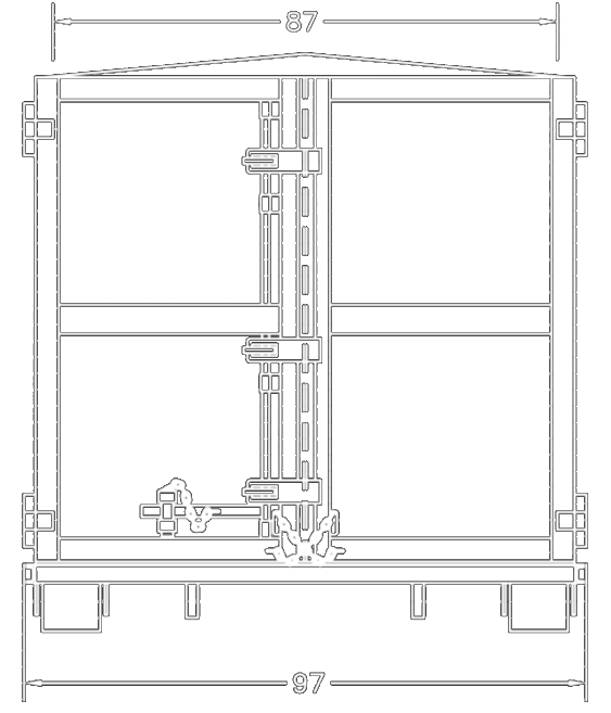 png stock structural drawing container #103942388