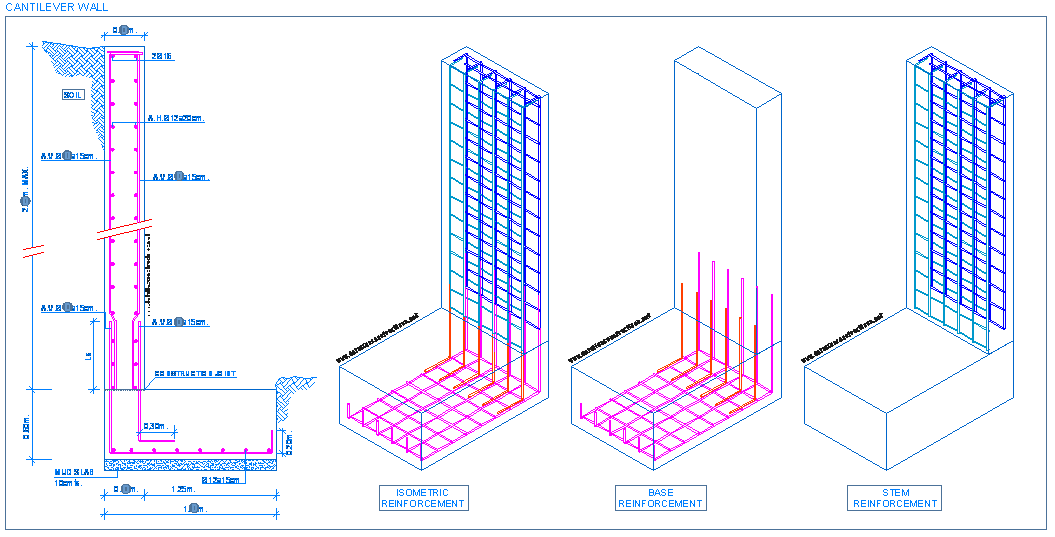 free stock structural drawing wall #103942436