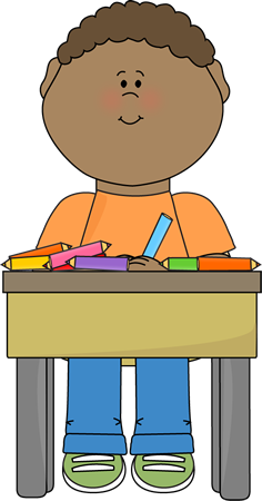 jpg free Student clipart. Working .