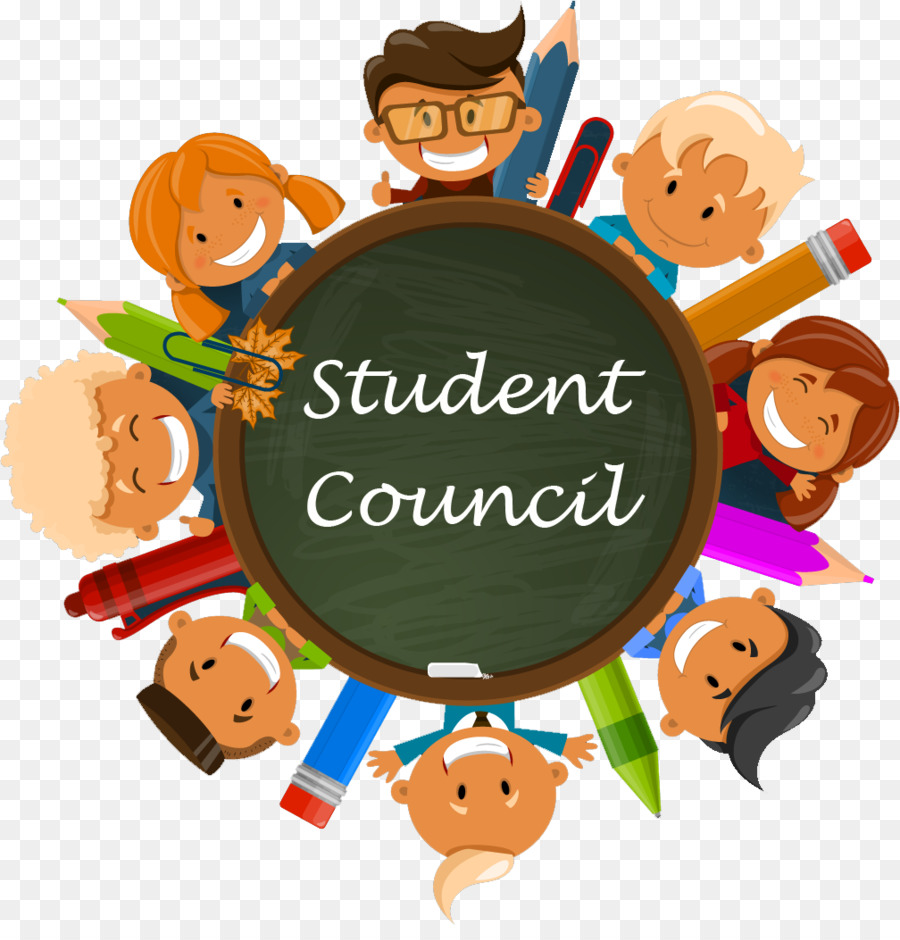 vector royalty free stock Student council clipart. Students cartoon school education