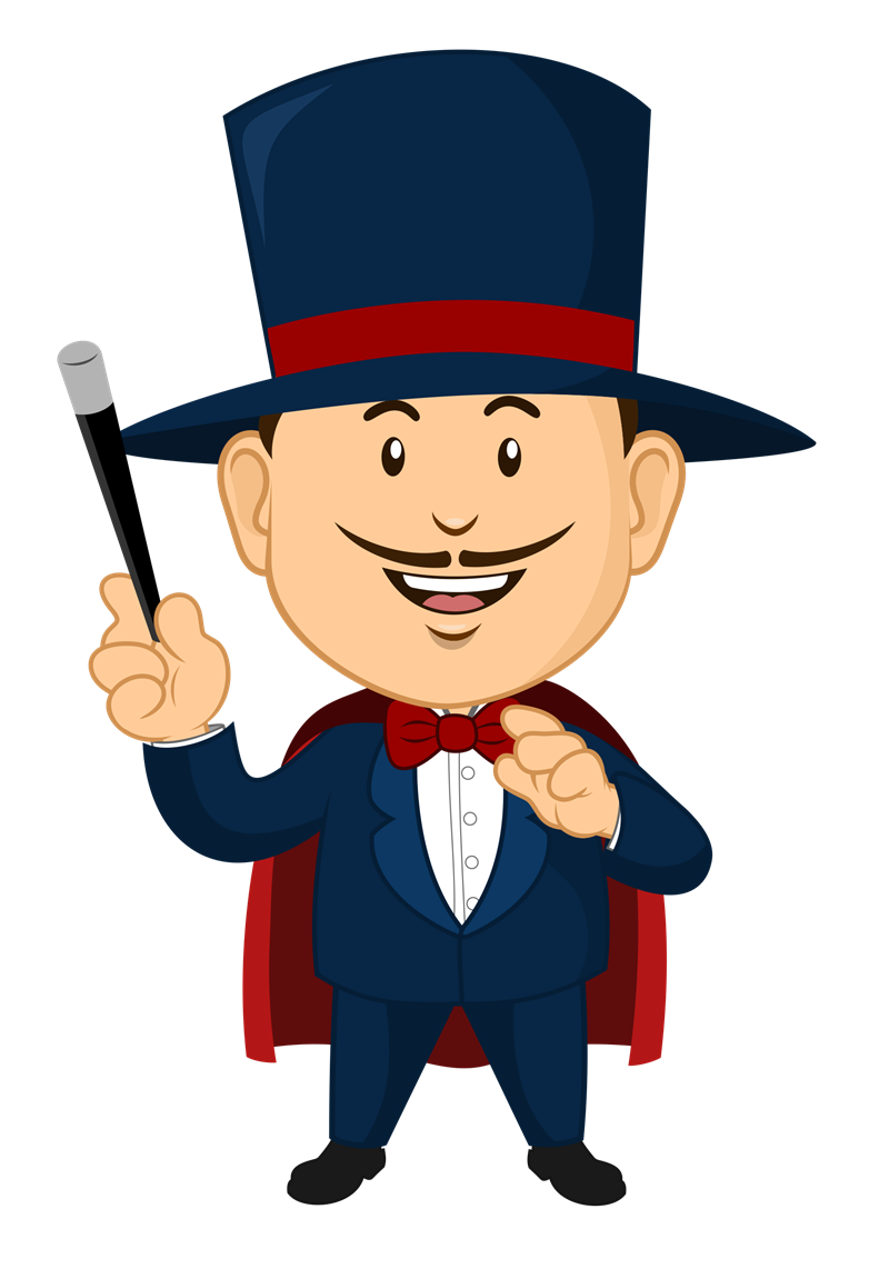 clip free stock Magician clipart. Academic at getdrawings com