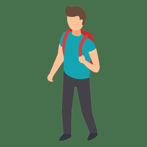 picture Student vector. Backpack illustration transparent png.