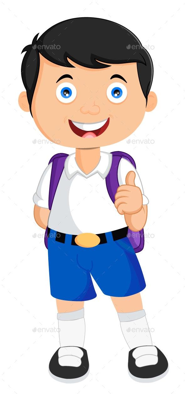 svg transparent Student vector. School illustration by contentarcade.