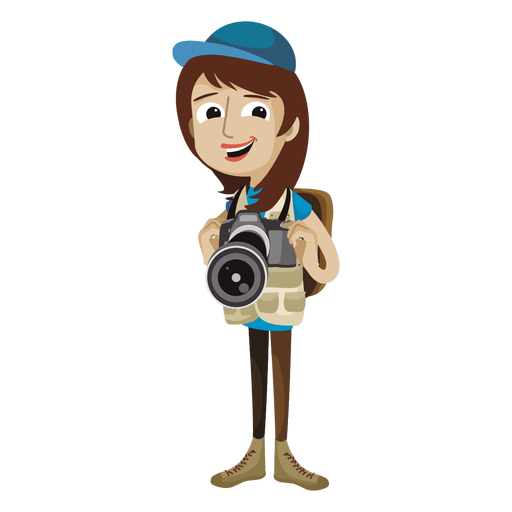 picture download Woman photographer cartoon