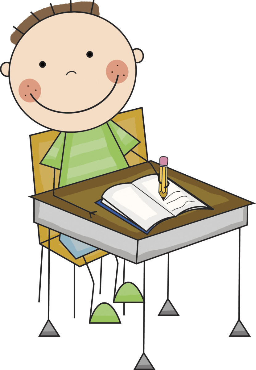 jpg transparent library Students working clipart. Free student cliparts download.
