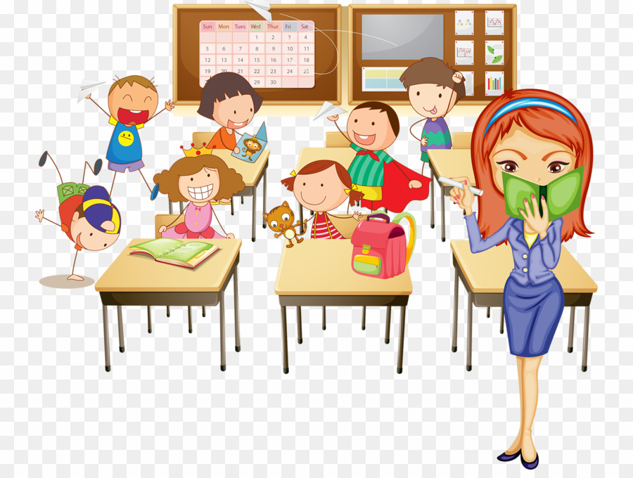 banner black and white stock Png classroom student download. Students in class clipart