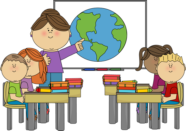 png free stock Teacher teaching students clipart.  collection of in