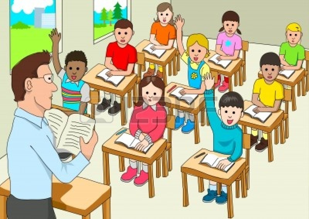 jpg library library Students in classroom clipart. School clip art library