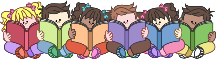 vector royalty free download Students reading clipart. Group of clipartfox