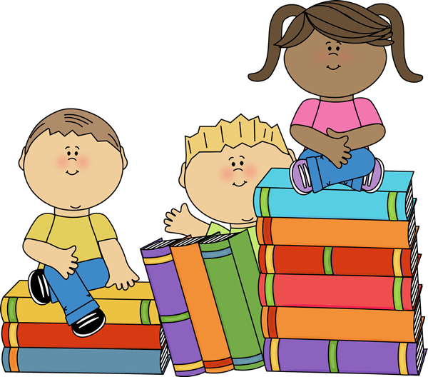 image free stock Students studying clipart.  collection of children
