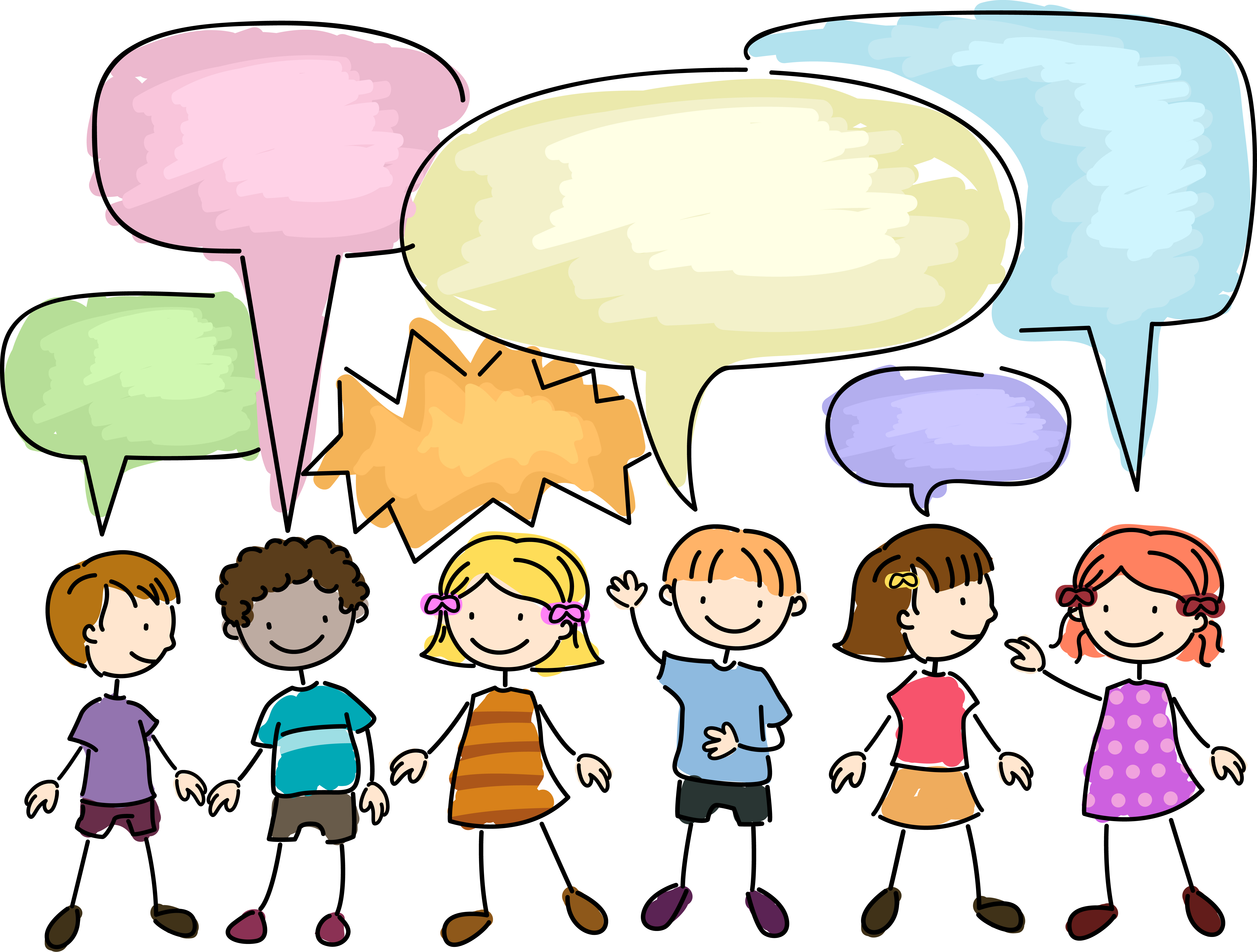 svg free Student in class clip. Students talking clipart.