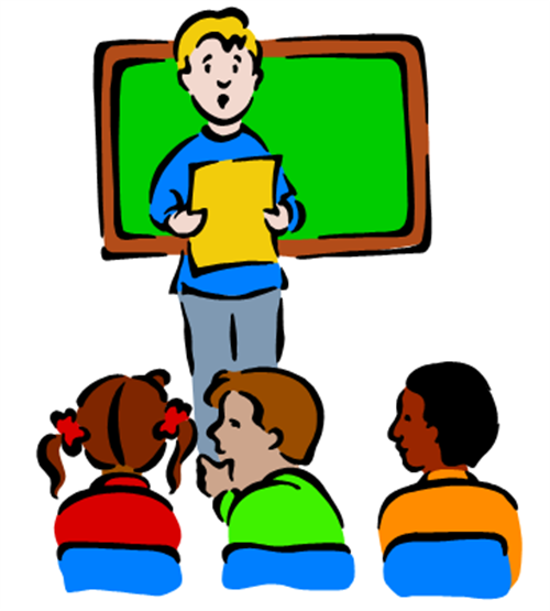 banner download Students talking in class clipart. Free download best