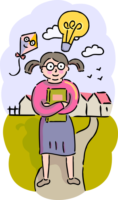 clipart transparent Bright High School Student