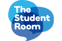 clipart royalty free library THE STUDENT ROOM Logo Vector