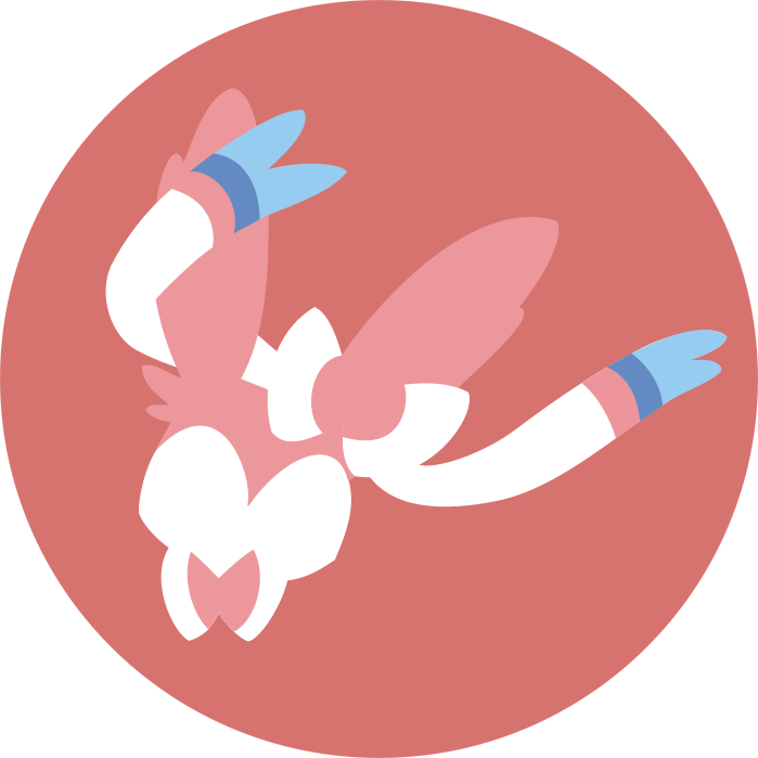 banner library stock Minimalist Sylveon Icon