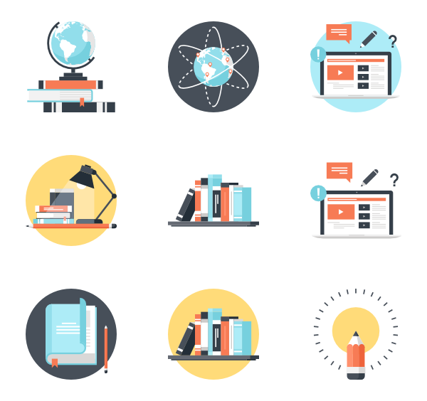 svg free stock University Icons