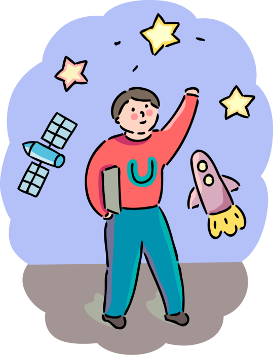 clip art stock Astrophysics University Student