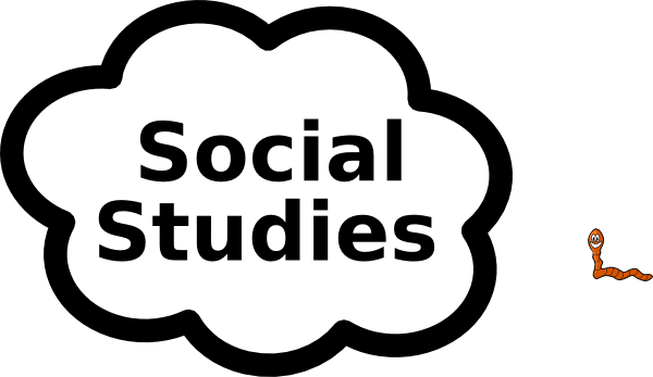 picture black and white library Social Studies Sign Clip Art at Clker