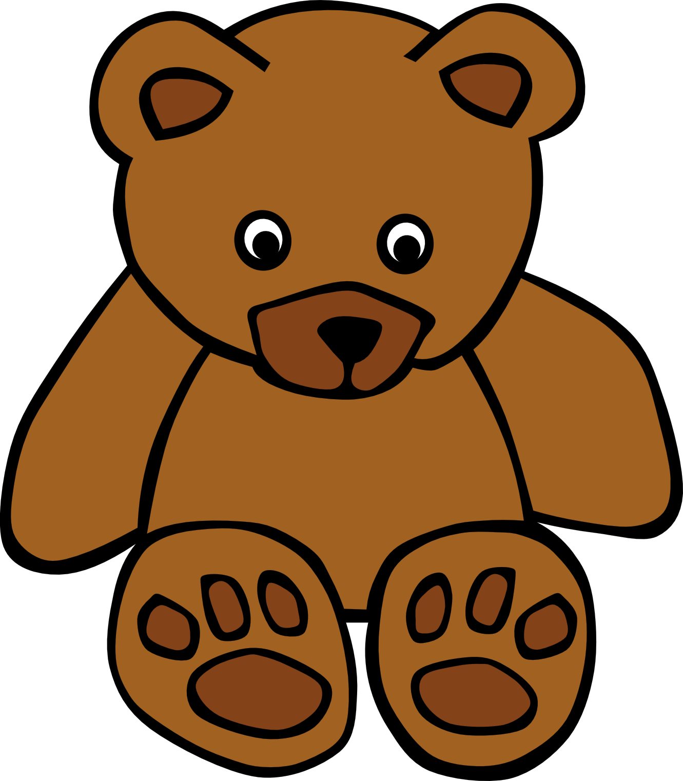 svg royalty free stock Stuffed Animal Clipart