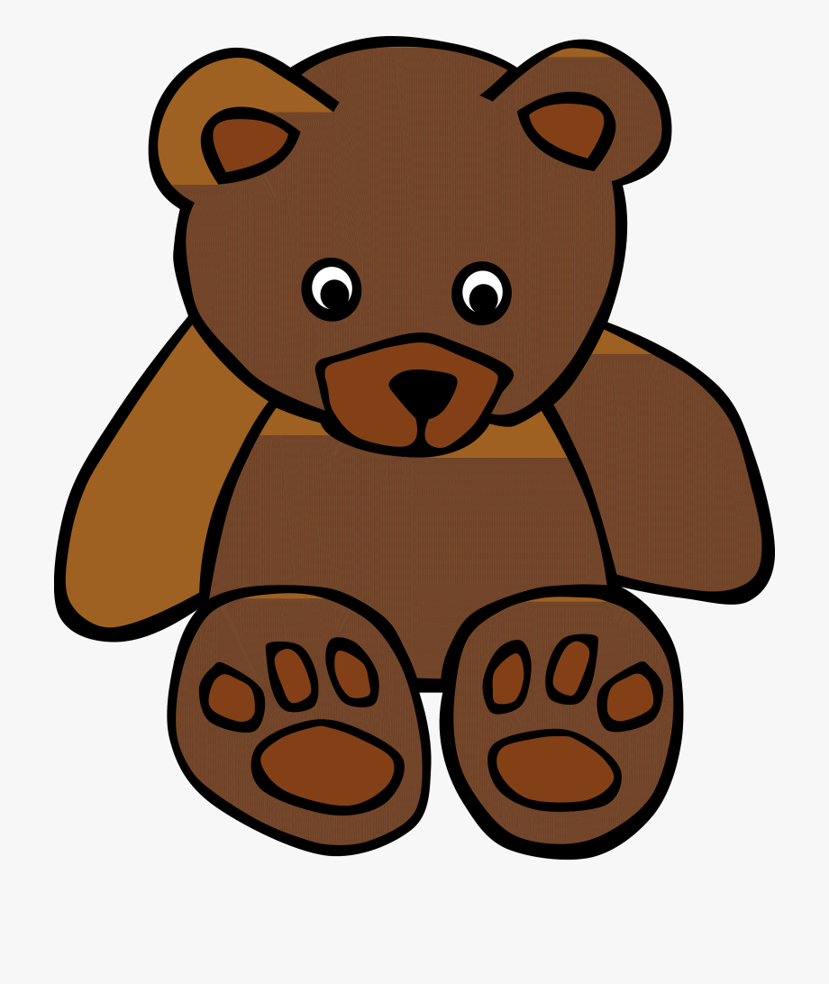 vector free stock Ted animals clip art. Stuffed animal clipart