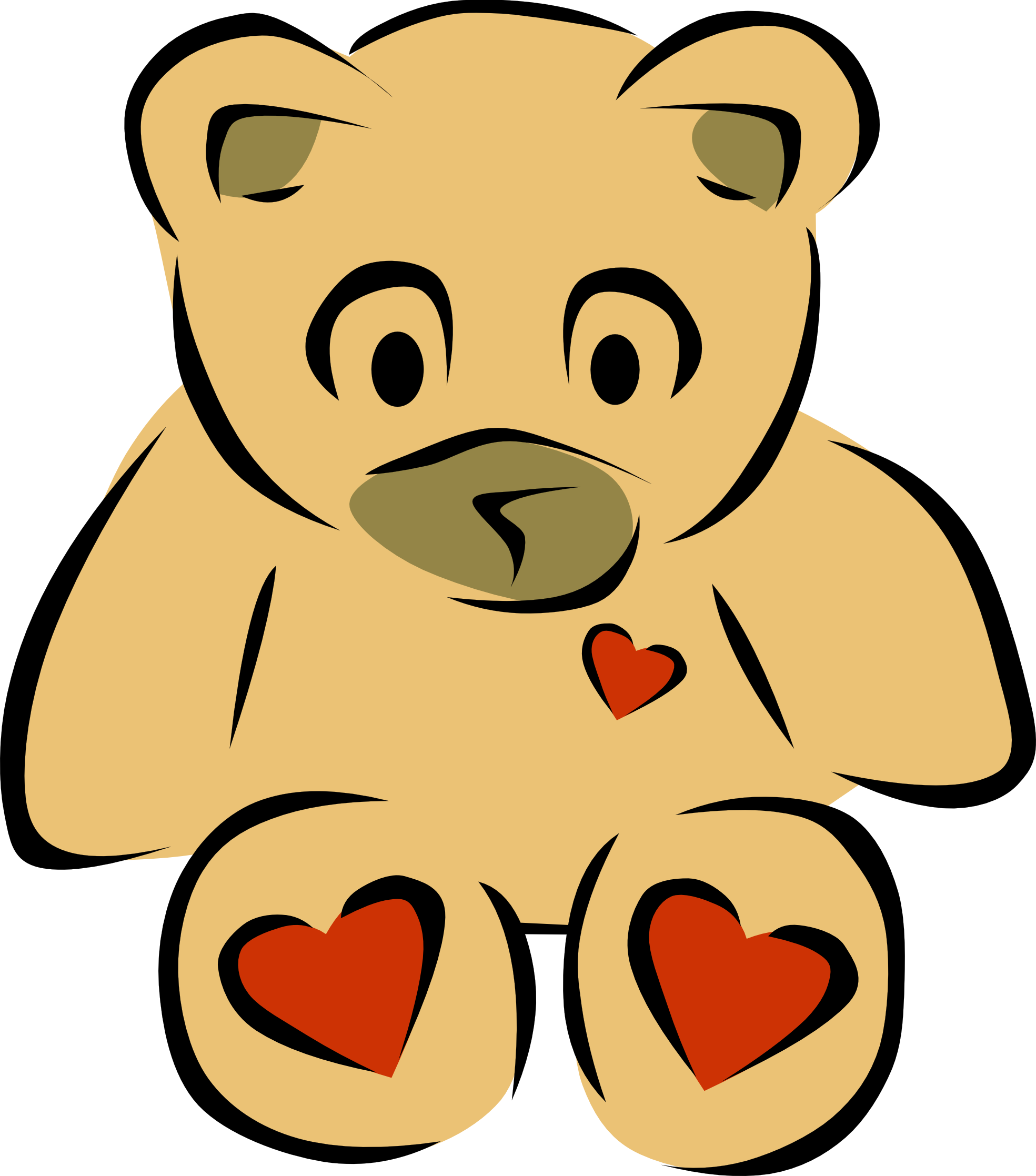 png stock Stuffed Doll Clipart
