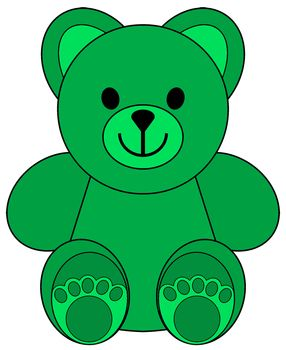 picture free stock Stuffed clipart colorful bear. Clip art little colored