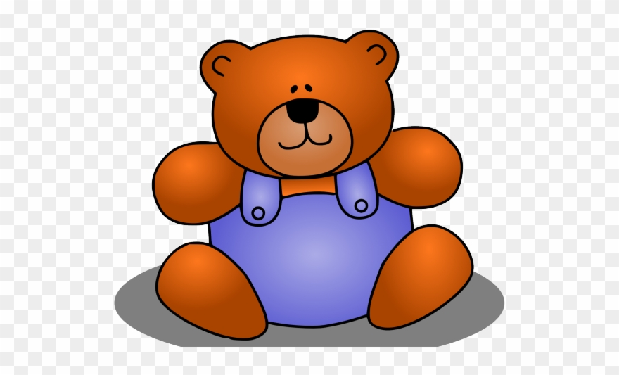 png freeuse stock Animal simple clip art. Stuffed clipart colorful bear