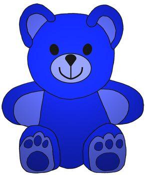 clip art stock Clip art little colored. Stuffed clipart colorful bear