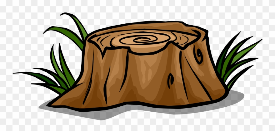 svg royalty free library Png free transparent cartoon. Stump clipart