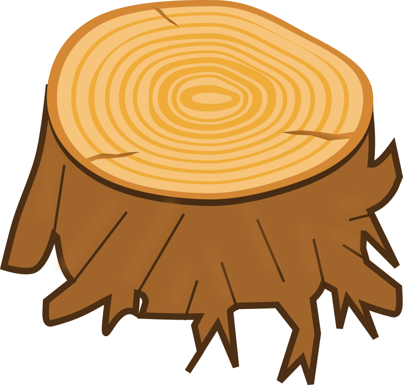 transparent stock Tree medium image png. Stump clipart