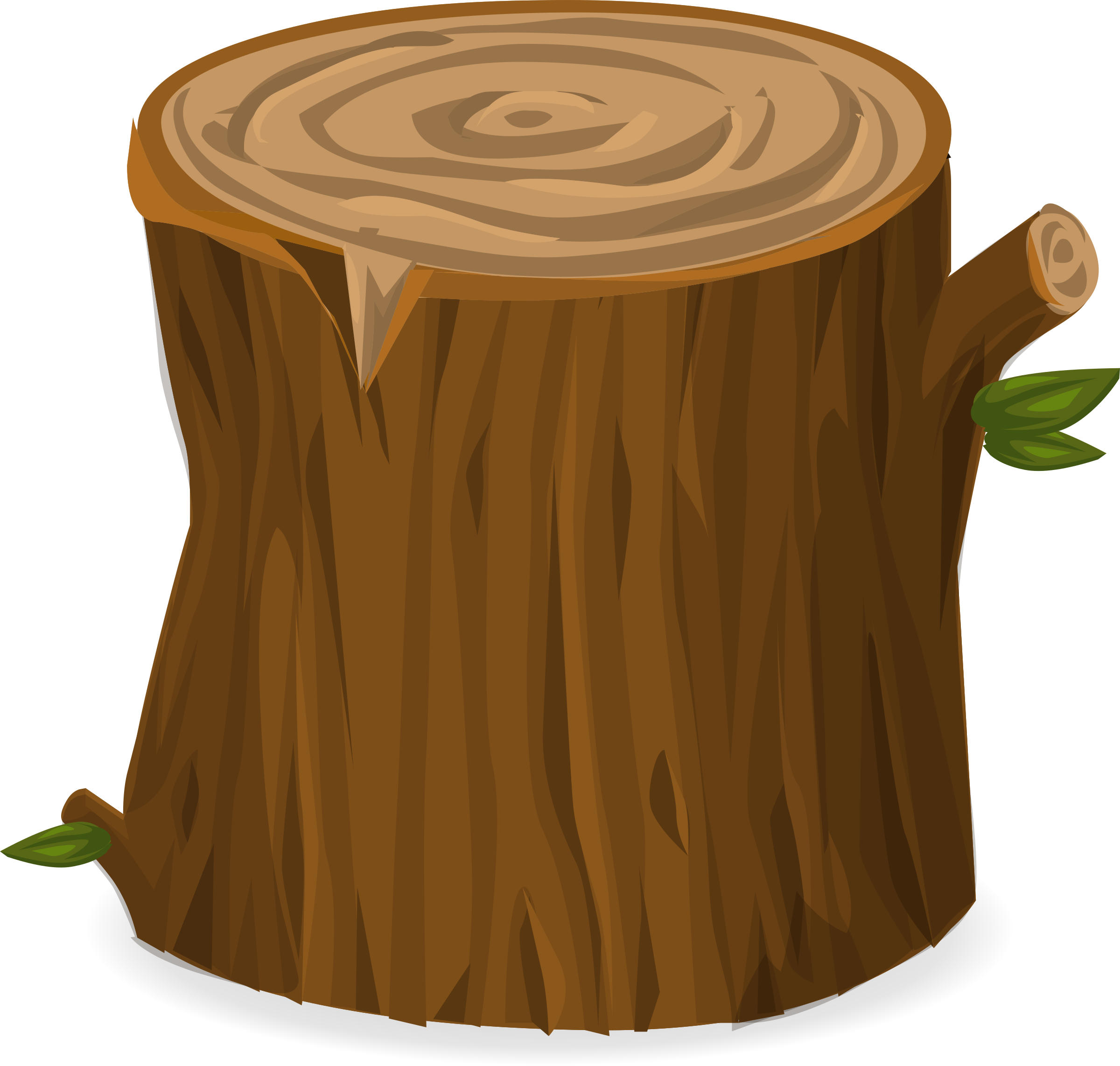 banner stock Tree from glitch big. Stump clipart
