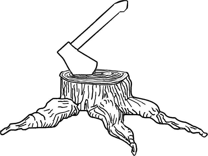 vector library stock Tree Stump Drawing at GetDrawings