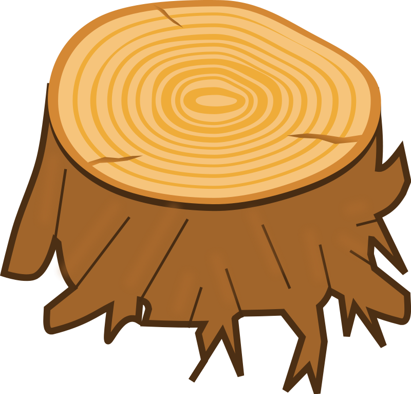 svg transparent Tree Stump Clipart tree stump clipart free camping out theme