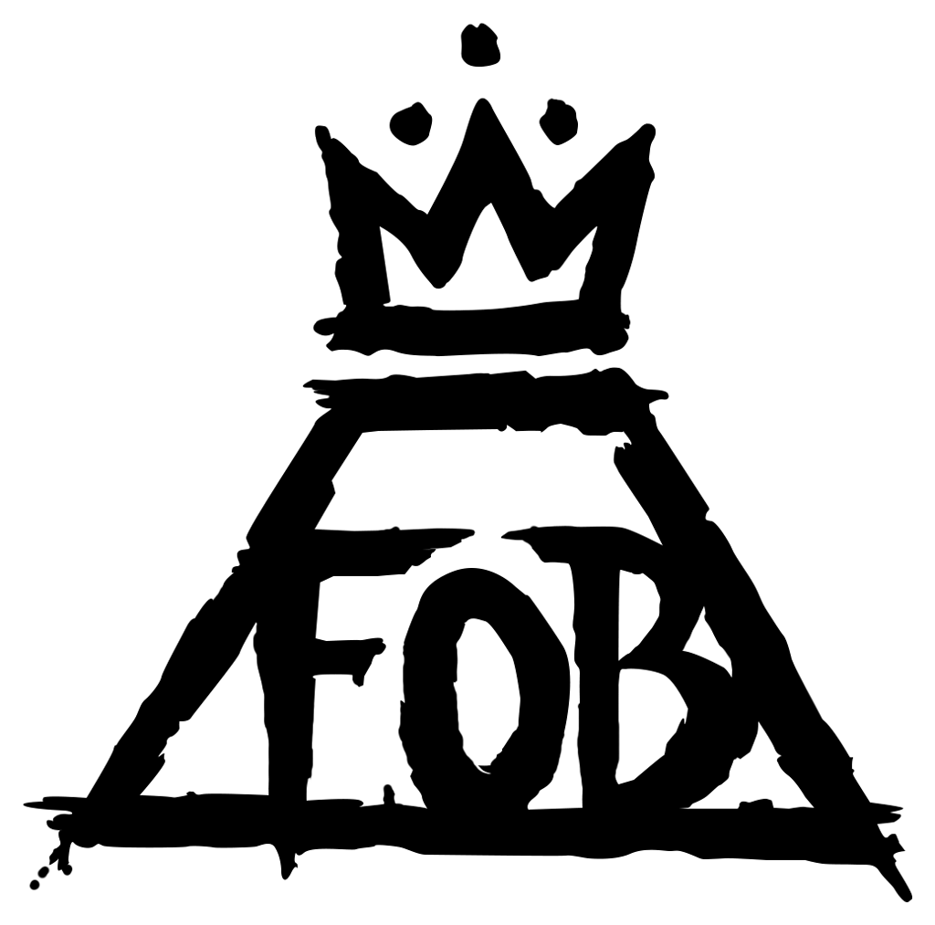 jpg free stock Fall Out Boy Logo transparent PNG