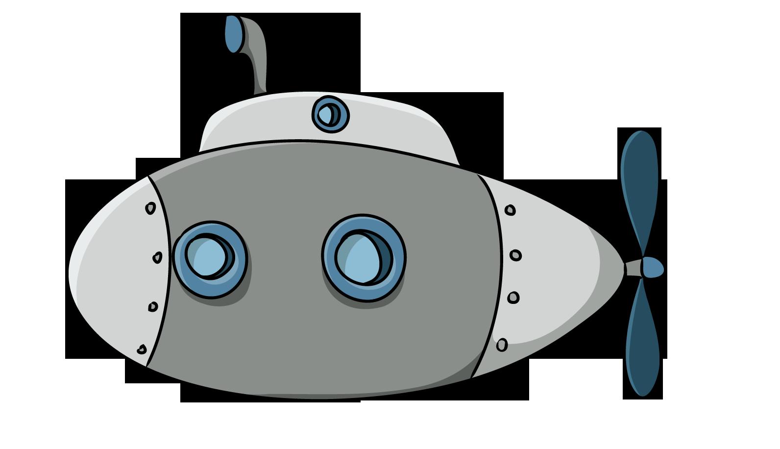 clip art transparent download Free Cartoon Submarine Clipart