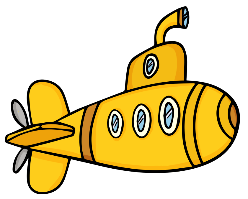 svg freeuse library Submarine PNG images free download