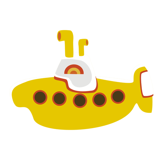 clipart library library Yellow children toy download. Submarine vector