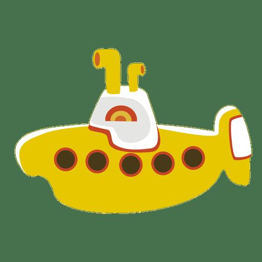 svg black and white Yellow submarine children toy