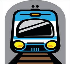 vector black and white library Subway clipart. X making the web.