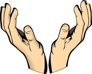 clip art royalty free library Hands clipart. Two free images art.