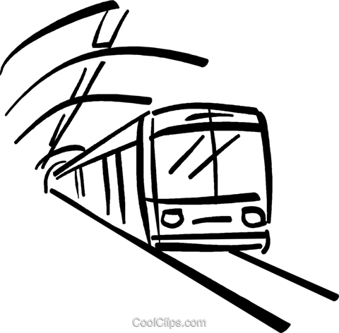 banner library stock Subway clipart. Long train free on.