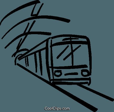 svg stock Subway Clipart long train