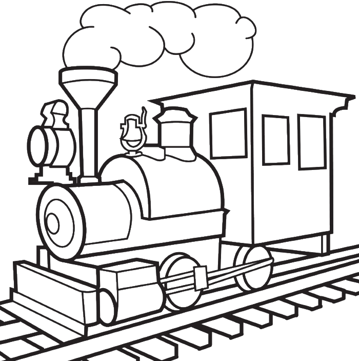 clip art free download Train Beautiful Image Drawing