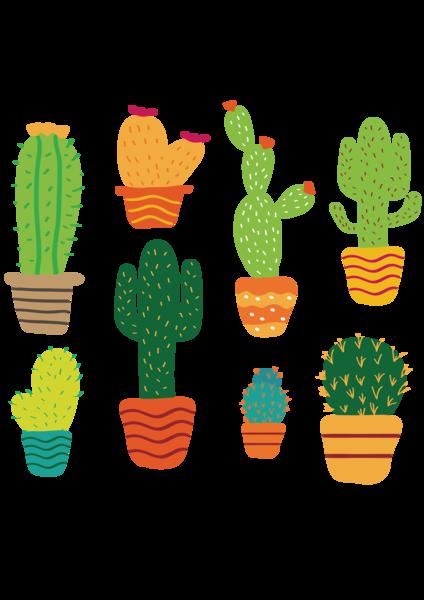 svg royalty free download Cactaceae plant clip art. Succulent clipart.