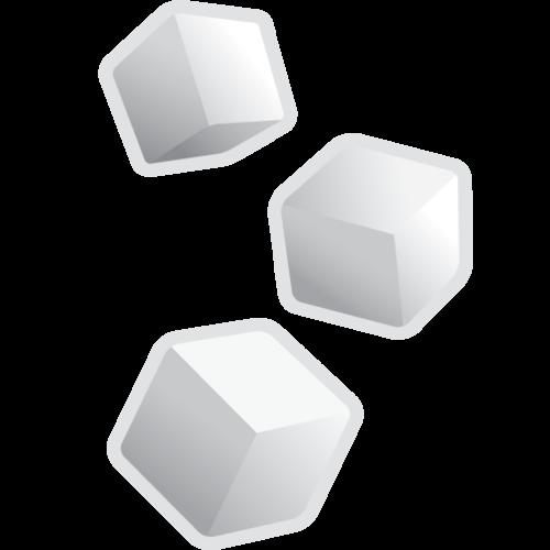 banner free download sugar transparent cube #104020286