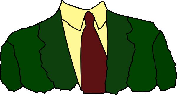 clip freeuse download Men Suit Tie Clip Art at Clker