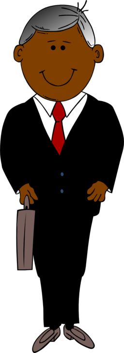 picture free library Black man clipart. In suit i royalty