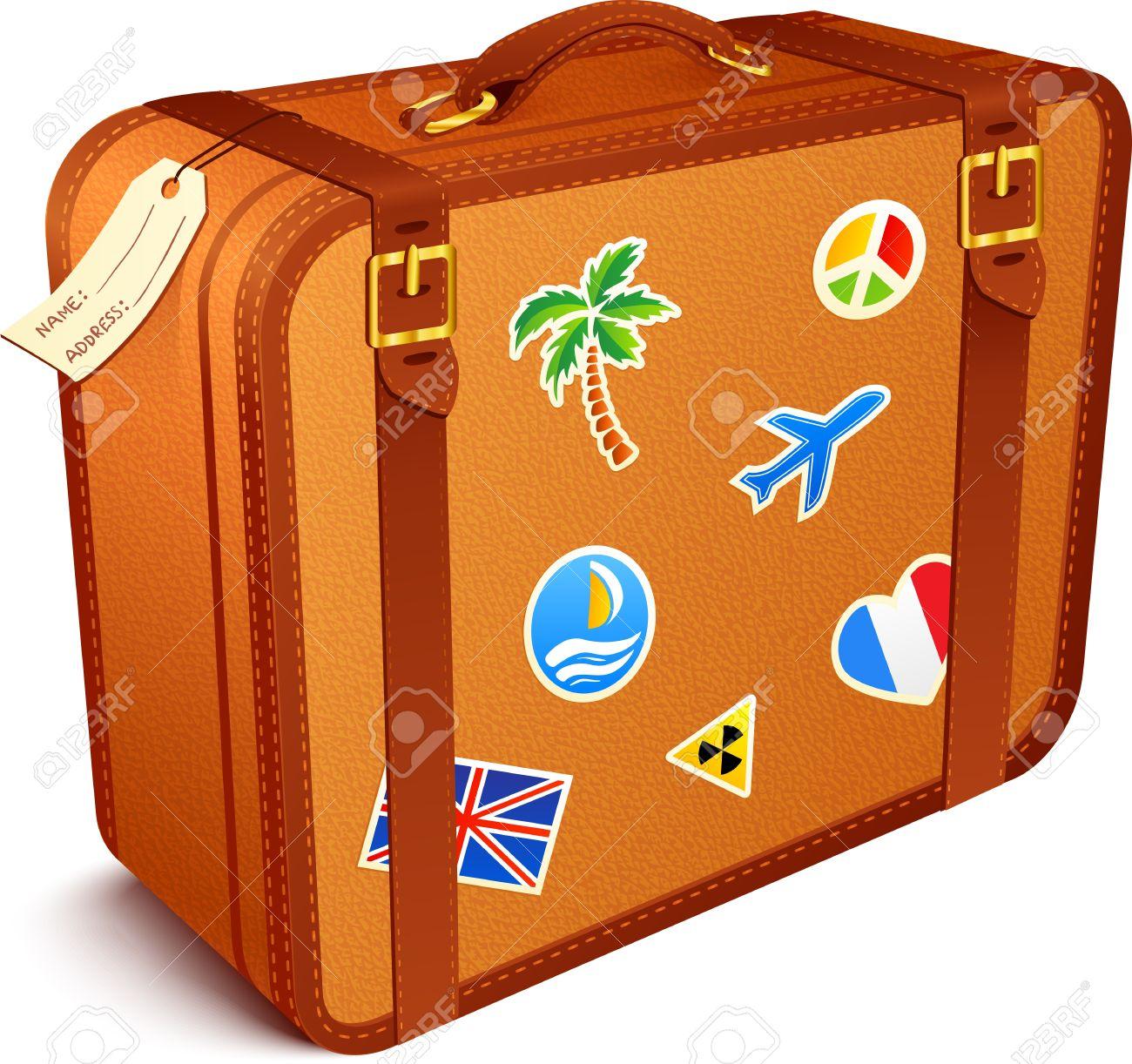 transparent download Suitcase clipart.  clip art clipartlook